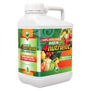 4nutrient-GREENHOUSE سبز محصول داتیس