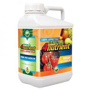 4nutrient-HIGHPOTASS سبز محصول داتیس