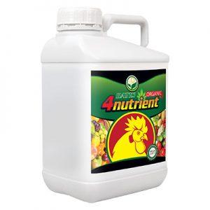 4nutrient-ORGANIC سبز محصول داتیس