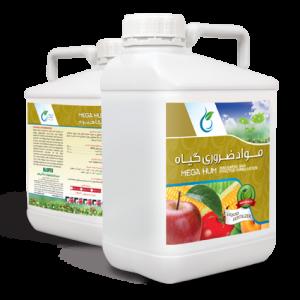 کود مواد ضروری گیاه MEGA HUM (هیومیک اسید و فولویک اسید مایع)